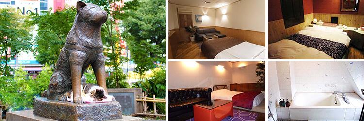 渋谷のおすすめラブホテル26選 パートナーを喜ばせるホテル選び