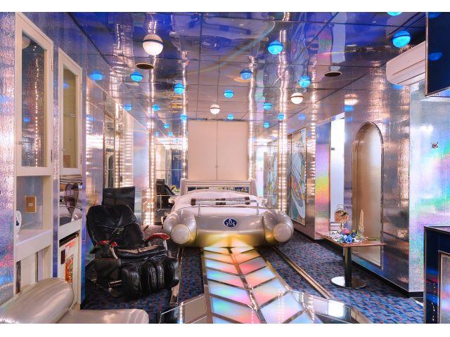 401号室(Dタイプ)宇宙船ベット付きのお部屋♪