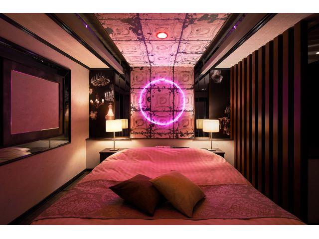 224号室Vintage~ヴィンテージ非日常的な空間の一室。レトロだけど新しい。。。そんな素敵な異空...