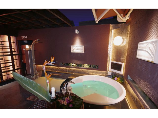 602号室(露天風呂)