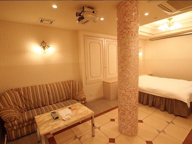 部屋タイプ4 淡いピンクで落ち着いた雰囲気が魅力