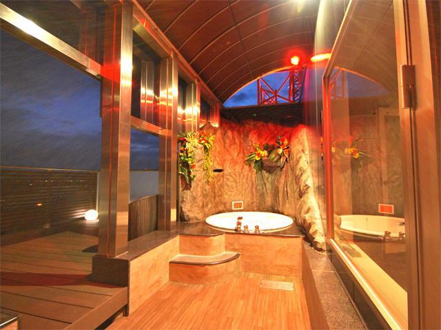 ホテルイマージュツインタワーズ 805号室露天風呂