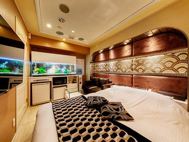 客室内水槽(305号室)/ダーツ&VR 305号室(デラックスBルーム)