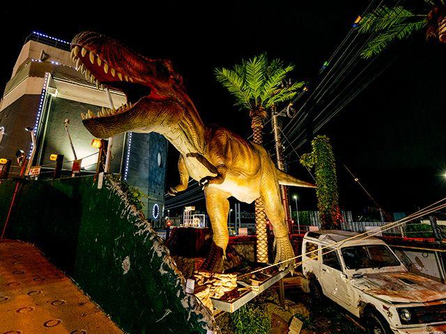 恐竜/アーケードゲーム 大迫力のティラノサウルス!!