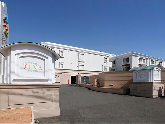 ホテル ファインガーデン松山外観