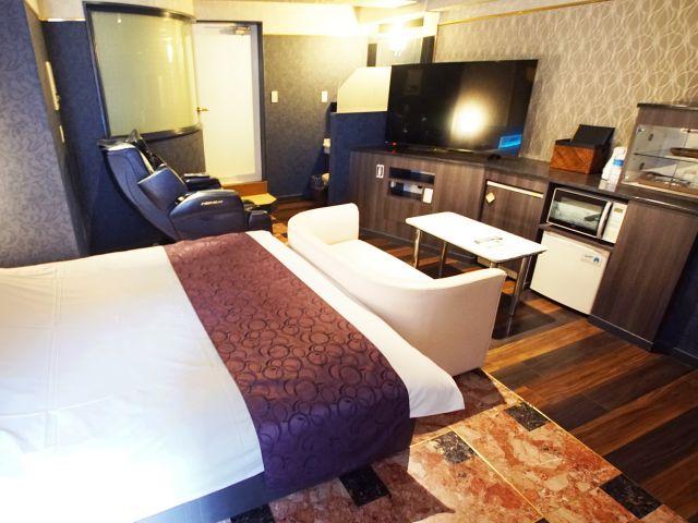 602号室 / 露天風呂 最新のリラクゼーションルーム