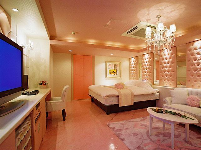 403 ピンクのお部屋は、『子供っぽくない可愛らしさ』がコンセプト