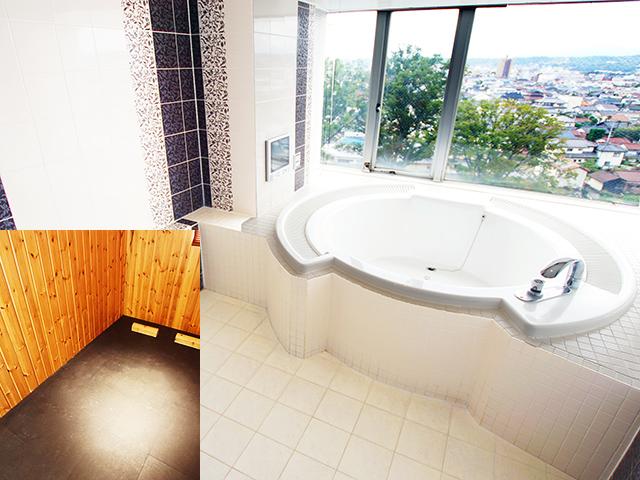 801【Fランク】 バスルーム&岩盤浴