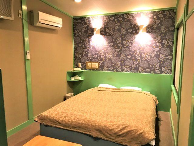 111号室 ベッド