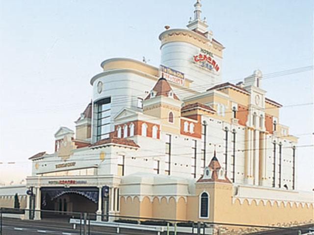 ホテル ときめき貴族大使館犬山店外観