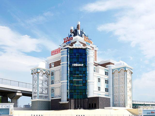 HOTEL Waltz(ワルツ)大使館 知立店外観