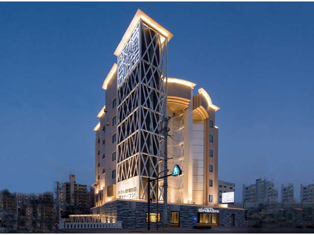 ホテル 銀橋別荘外観