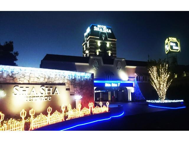 HOTEL SHASHA terrace&SHASHA大東店(ホテル シャシャテラス&シャシャ大東店)外観