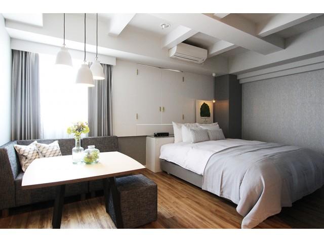 405号室/504露天風呂 居心地の良いナチュラルな405号室