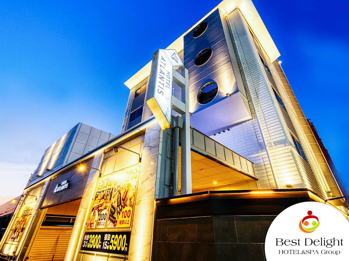 HOTEL ATLANTIS 東大阪店 * BestDelightグループ *
