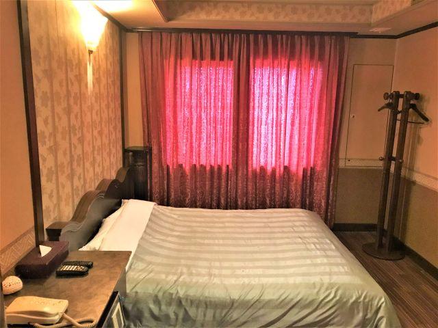 8号室 ベッドルーム