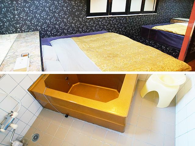 111 Aタイプ ベットルーム / バスルーム