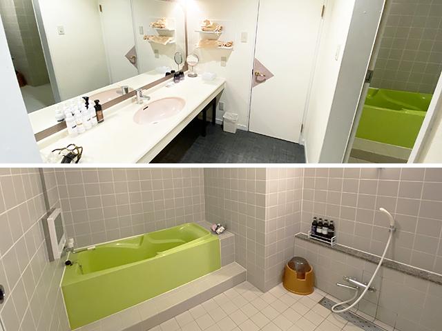 212(特室) バスルーム