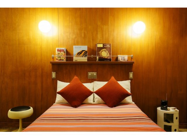 ROOMS [W]Double bed room