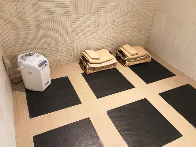 2号室(岩盤浴付お部屋) 岩盤浴