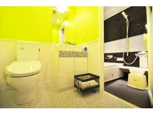 部屋タイプ1 バスルーム