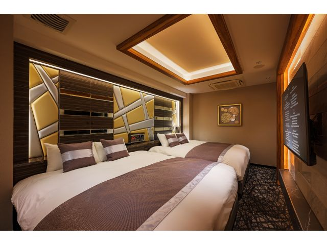605【COCO Suite】 ベッドルーム