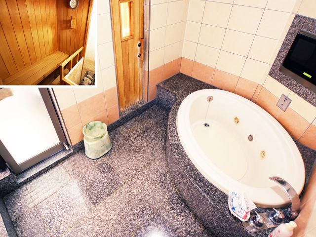 217【Dランク】 バスルーム&サウナ