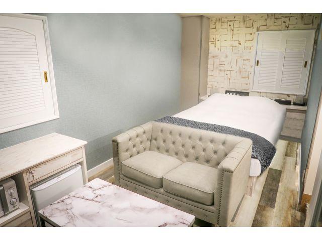 202号室 ベッドルーム