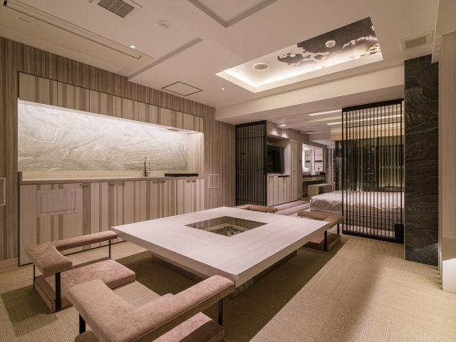 P type 赤坂の夜を彩る特別室